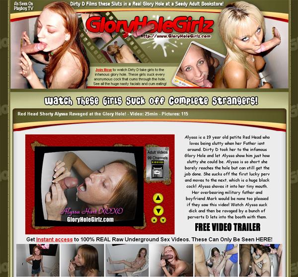 Glory Hole Girlz Checkout Form