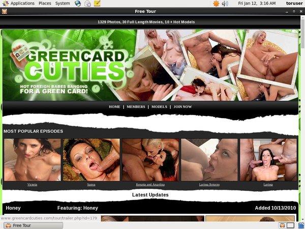 Green Card Cuties Full Scenes