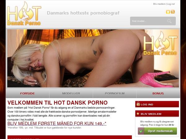 Hot Dansk Porno Membership