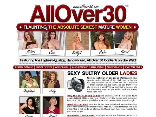 Allover30.com Pass Free