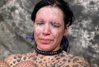 Facefucking rough sex