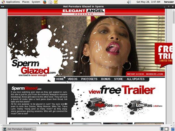 Sperm Glazed Free Id